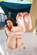 big tits, foot, pussy, tits