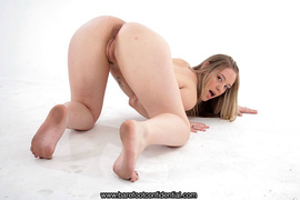 ass, foot, pussy, white