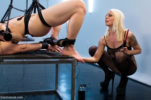 Mean Mistress slaps and four-fingers her - XXX Dessert - Picture 7