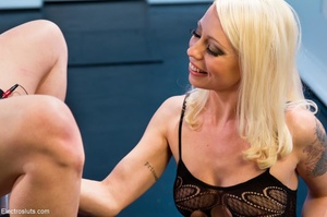 Mean Mistress slaps and four-fingers her - XXX Dessert - Picture 8