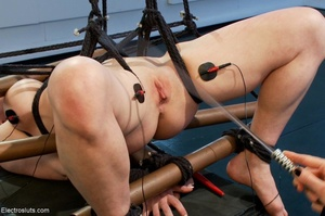 Mean Mistress slaps and four-fingers her - XXX Dessert - Picture 15