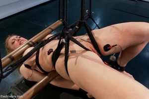 Mean Mistress slaps and four-fingers her - XXX Dessert - Picture 18