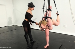 Bossy Domme in a black fedora lays down  - XXX Dessert - Picture 15