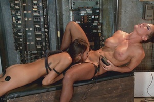 Sexy submissive gets a real charge out o - XXX Dessert - Picture 18