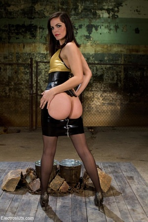 Radiant Domme in black stockings likes s - XXX Dessert - Picture 1