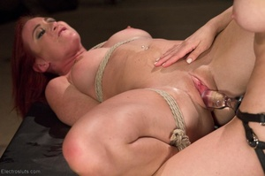 Slut on a Saint Andrews cross is made to - XXX Dessert - Picture 16