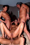ass, brunette, group sex, pussy