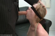 masturbating maid's ass reddened