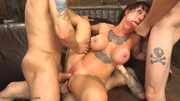 double penetration wows chick