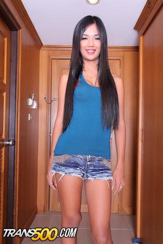 yummy ladyboy blue shirt