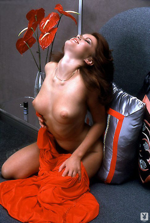 70's brunette chick with natural tits sh - XXX Dessert - Picture 12