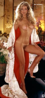 80's playboy blonde model