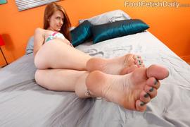 ass, foot, lick, redhead