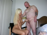 naked blonde with sizzling