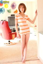 stunning chick striped shirt