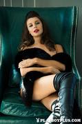 brunette, erotica, model, pool