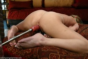 shaved pussy blonde bitch