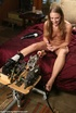 Vibrator and sybian machine turn amateur chick crazy