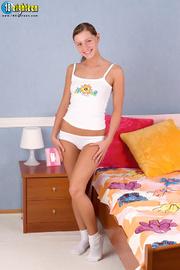 cute damsel white chemise