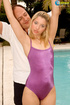 lovely shiela purple swimsuit