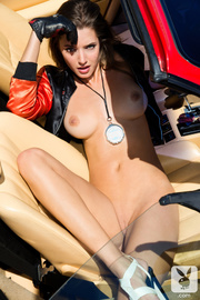 hot young lady with