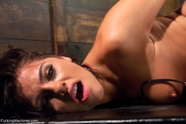 chained, drilled, fucking machines, tits