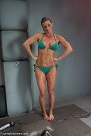 muscled lady needs many