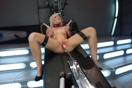 drilled, fucking machines, tied up, toys