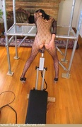 drilled, fishnet, fucking machines, lady