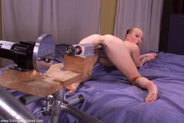 blonde, drilled, fucking machines