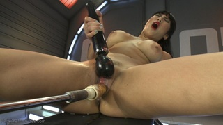 asian, fucking machines, pretty, slut