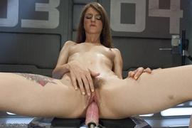 drilled, fucking machines, hairy, vagina