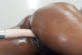 butt, ebony, fucking machines, thick