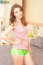 appealing lass striped shirt