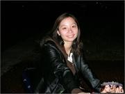 asian teen rides motorbike