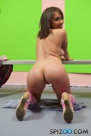 petite athletic schoolgirl latina