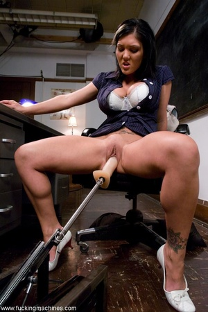 Tattooed teacher slut getting drilled so - XXX Dessert - Picture 3