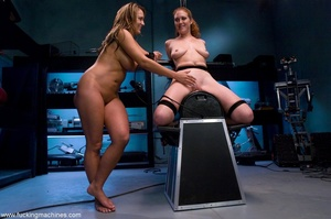 Two gorgeous lesbian babes having fun wi - XXX Dessert - Picture 17