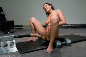 Busty slut with big tits working out and - XXX Dessert - Picture 8