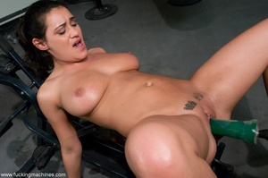 Busty slut with big tits working out and - XXX Dessert - Picture 13