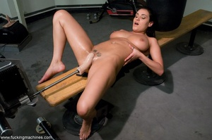 Busty slut with big tits working out and - XXX Dessert - Picture 15