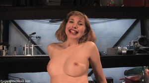 Petite blondie with fine tits teasing he - XXX Dessert - Picture 18