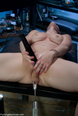 Curvy darling with big boobs gets fucked - XXX Dessert - Picture 17