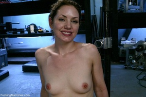 Petite gal rides a sybian and enjoys dri - XXX Dessert - Picture 18
