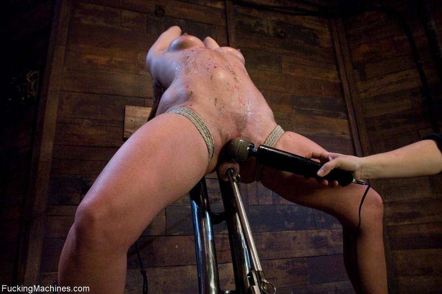 Blonde gal gets tied up, blindfolded and dr - XXX Dessert - Picture 9