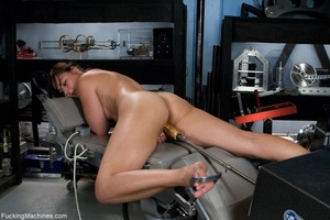 Brunette lady gets her tits stimulated a - XXX Dessert - Picture 12
