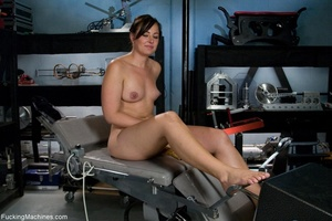 Brunette lady gets her tits stimulated a - XXX Dessert - Picture 14