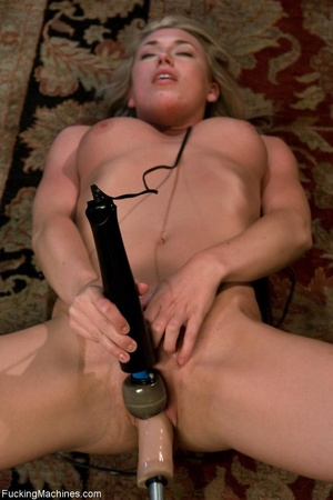 Petite blondie with natural body drillin - XXX Dessert - Picture 14