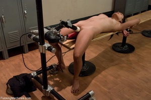 Raven haired gal working out with her se - XXX Dessert - Picture 15