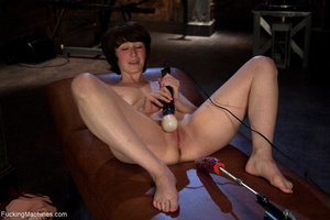 Dark haired cutie is ready to drill her  - XXX Dessert - Picture 3
